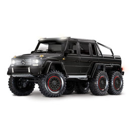 Traxxas Traxxas TRX-6 Mercedes-Benz G 63 AMG Body 6X6 Electric Trail Truck Black