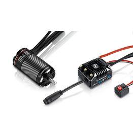 Hobbywing Hobbywing Combo XeRun AXE550 3300kv FOC Sensored Brushless System v1.1