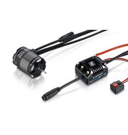 Hobbywing Hobbywing Combo XeRun AXE540 2300kv FOC Sensored Brushless System v1.1
