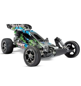 Traxxas Traxxas Bandit VXL TQi TSM (no battery/charger), Green