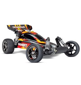 Traxxas Traxxas Bandit VXL TQi TSM (no battery/charger), Red, TRX24076-4R