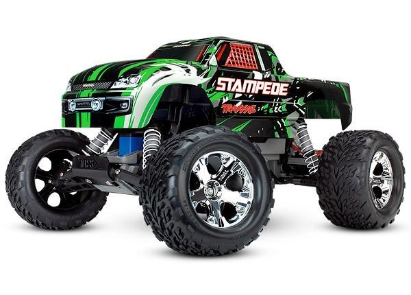 Traxxas Stampede XL-5 TQ (incl battery/charger), Green TRX36054-1G-2