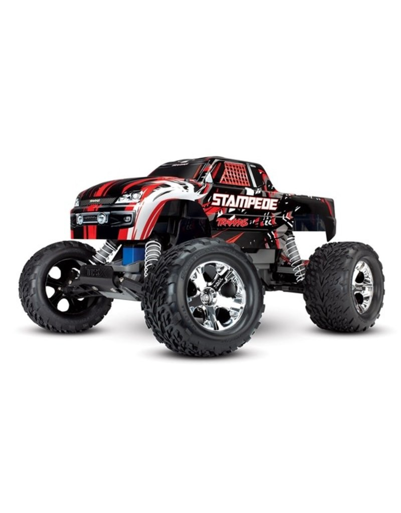 Traxxas Traxxas Stampede XL-5 TQ (incl battery/charger), Red, TRX36054-1R