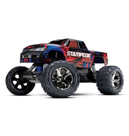 Traxxas Traxxas Stampede VXL TQi TSM (no battery/charger), Red, TRX36076-4R