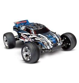 Traxxas Traxxas Rustler XL-5 TQ (incl battery/charger), Blue, TRX37054-1B