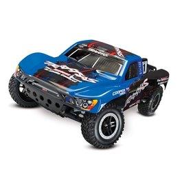 Traxxas Traxxas Slash 2WD VXL TQi TSM (no battery/charger), Blue, TRX58076-4B