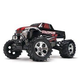 Traxxas Traxxas Stampede 4x4 XL-5 TQ (incl battery/charger), Black, TRX67054-1BLK