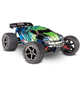 Traxxas Traxxas E-Revo 1/16 4x4 Brushed TQ (incl battery/charger), Green
