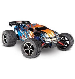 Traxxas Traxxas E-Revo 1/16 4x4 Brushed TQ (incl battery/charger), Orange
