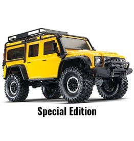 Traxxas Traxxas TRX-4 Land Rover Defender Crawler TQi XL-5, Yellow Special Edition