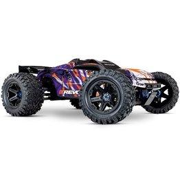 Traxxas Traxxas E-Revo 2 TQi VXL-6S (no battery/charger), Purple
