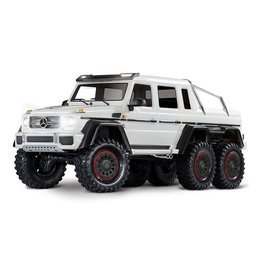 Traxxas Traxxas TRX-6 Mercedes-Benz G 63 AMG Body 6X6 Electric Trail Truck White
