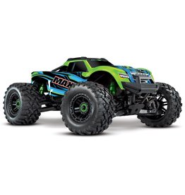 Traxxas Traxxas Maxx 1/10 Scale 4WD Brushless Electric Monster Truck, VXL-4S, TQi - GRNX