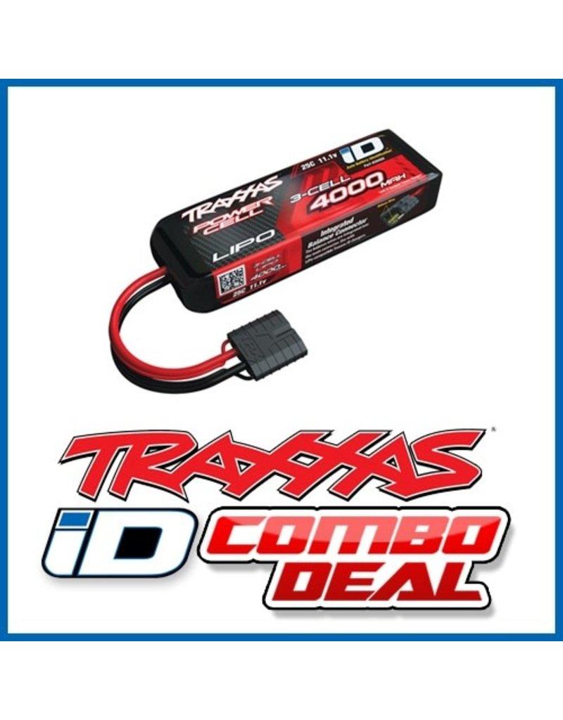 Traxxas Power Cell LiPo 4000mAh 11.1V 3S 25C , all models  ID