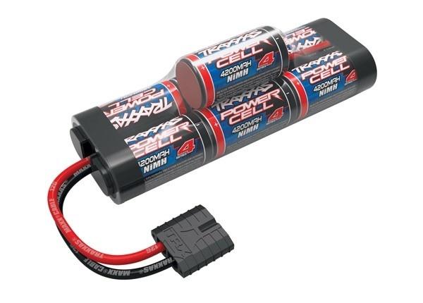 Battery, Series 4 Power Cell (NiMH, 7-C hump, 8.4V) ID, TRX2951X-1