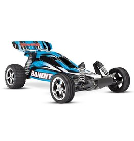 Traxxas Traxxas Bandit XL-5 TQ (incl. battery/charger), Blue, TRX24054-1B