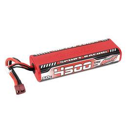 Team Corally Team Corally - Sport Racing 50C LiPo Battery - 4500mAh - 7.4V - Round 2S Stick - T-Plug