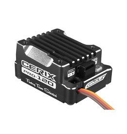 """Team Corally Team Corally - Cerix PRO 120 """"Racing Factory"""" - Black edition - 2-3S Electronische regelaar voor sensored en sensorless motoren - 120A"""