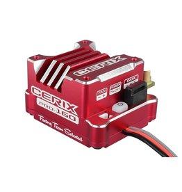 """Team Corally Team Corally - Cerix PRO 160 """"Racing Factory"""" - 2-3S Electronische regelaar voor sensored en sensorless motoren - 160A"""