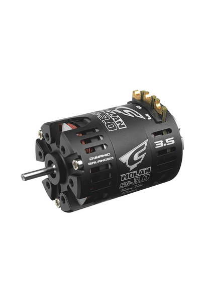 Team Corally - MOLAN SS-3.0 - 1/10 Sensored 2-Pole Competition Brushless Motor - Modified - 3.5 Turns - 9300 KV