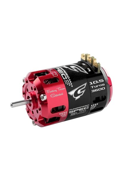 Team Corally - Dynospeed SPEC 3.0 - 1/10 borstelloze sensor competitie motor - Stock - 2-polig - 10.5 Turns - 3600 KV