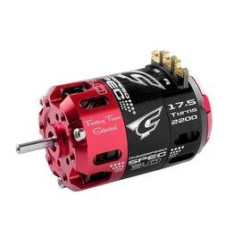 Team Corally Team Corally - Dynospeed SPEC 3.0 - 1/10 borstelloze sensor competitie motor - Stock - 2-polig - 17.5 Turns - 2200 KV