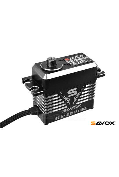 Savox - Servo - SB-2291SG - Digital - High Voltage - Brushless Motor - Steel Gear