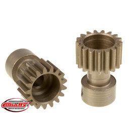 Team Corally Team Corally - 48 DP Pinion – Long Boss – Hardened Steel – 17 Teeth  - ø3.17mm