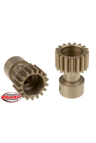 Team Corally - 48 DP Pinion – Long Boss – Hardened Steel – 17 Teeth  - ø3.17mm