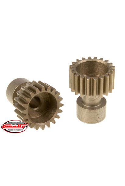 Team Corally - 48 DP Pinion – Long Boss – Hardened Steel – 20 Teeth  - ø3.17mm
