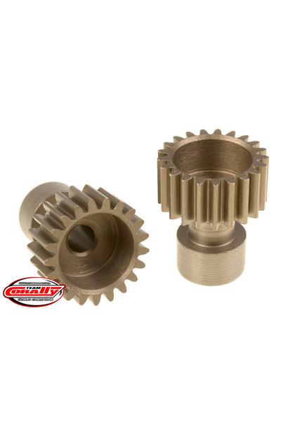 Team Corally - 48 DP Pinion – Long Boss – Hardened Steel – 21 Teeth  - ø3.17mm
