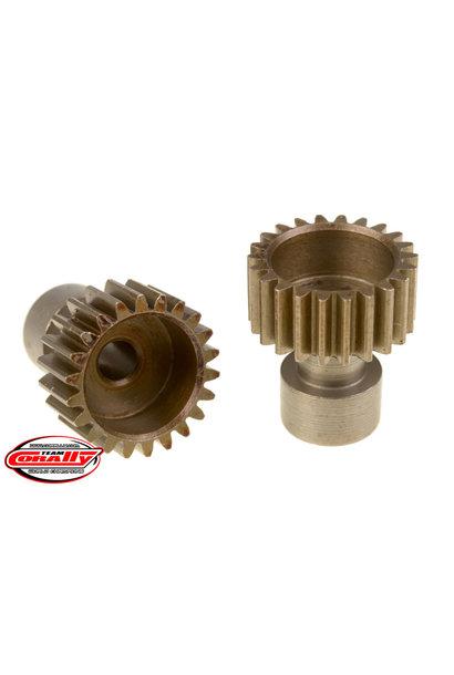 Team Corally - 48 DP Pinion – Long Boss – Hardened Steel – 22 Teeth  - ø3.17mm