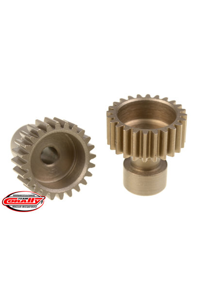 Team Corally - 48 DP Pinion – Long Boss – Hardened Steel – 24 Teeth  - ø3.17mm