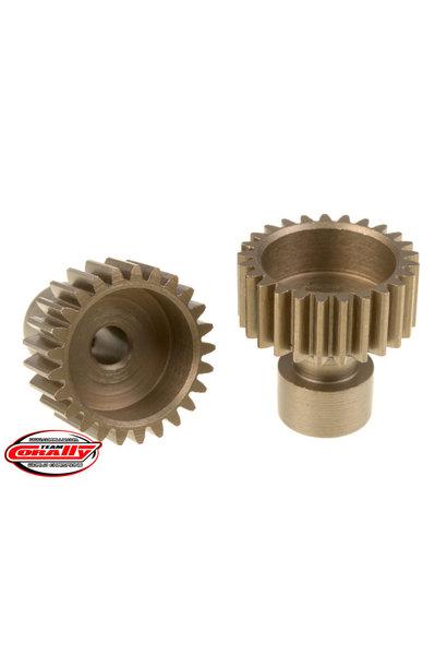 Team Corally - 48 DP Pinion – Long Boss – Hardened Steel – 25 Teeth  - ø3.17mm