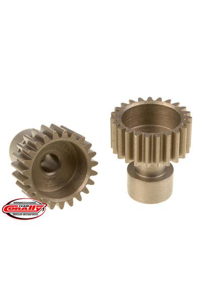 Team Corally - 48 DP Pinion – Long Boss – Hardened Steel – 23 Teeth  - ø3.17mm