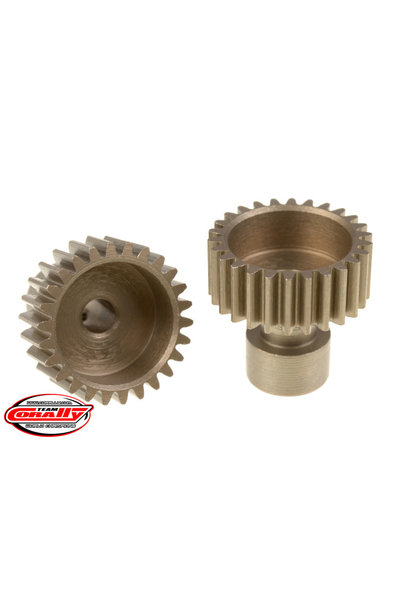 Team Corally - 48 DP Pinion – Long Boss – Hardened Steel – 26 Teeth  - ø3.17mm