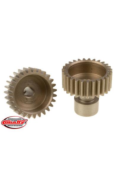 Team Corally - 48 DP Pinion – Long Boss – Hardened Steel – 27 Teeth  - ø3.17mm