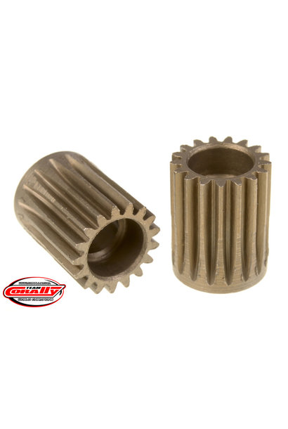 Team Corally - 48 DP Pinion – Short – Hardened Steel – 17 Teeth  - ø5mm