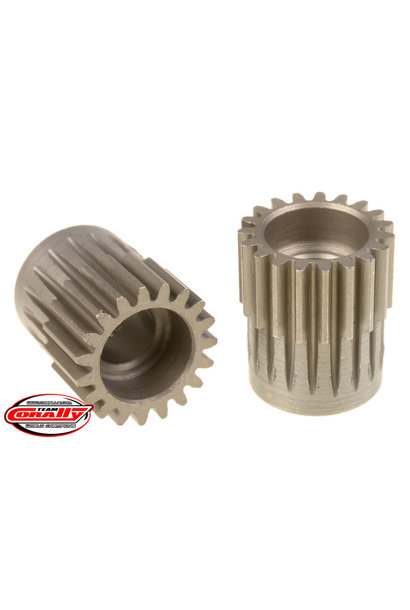 Team Corally - 48 DP Pinion – Short – Hardened Steel – 19 Teeth  - ø5mm
