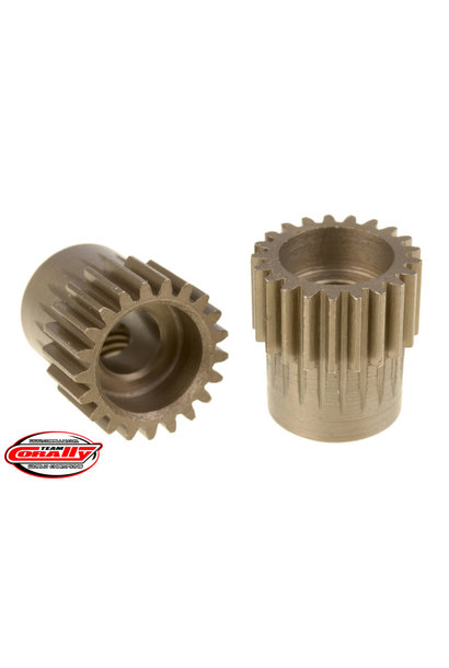 Team Corally - 48 DP Pinion – Short – Hardened Steel – 21 Teeth  - ø5mm
