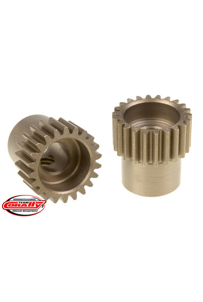 Team Corally - 48 DP Pinion – Short – Hardened Steel – 22 Teeth  - ø5mm