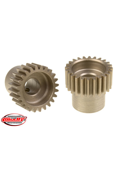 Team Corally - 48 DP Pinion – Short – Hardened Steel – 24 Teeth  - ø5mm