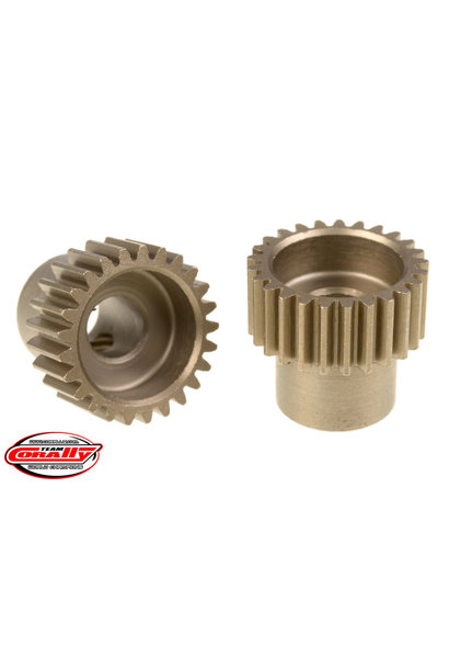 Team Corally - 48 DP Pinion – Short – Hardened Steel – 25 Teeth  - ø5mm