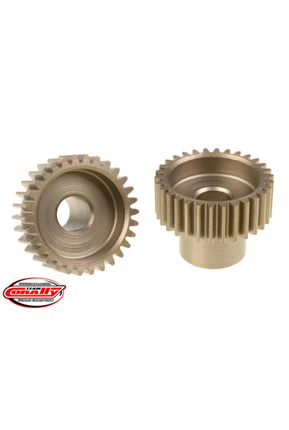 Team Corally - 48 DP Pinion – Short – Hardened Steel – 30 Teeth  - ø5mm