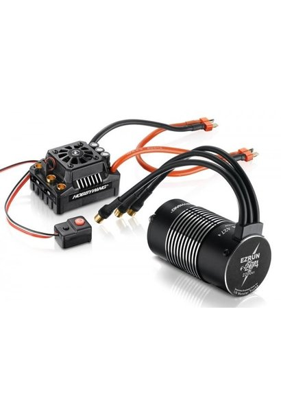 Hobbywing EzRun Combo MAX8 XT90, 2200kv, 1/8 Waterpr, HW38010400