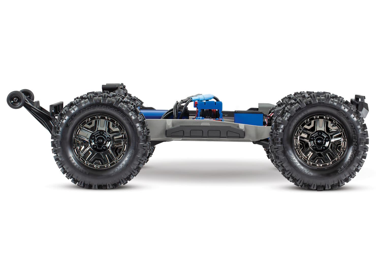 Traxxas Hoss 1/10 Scale 4WD Brushless Electric Monster Truck, VXL-3S, TQi - Orange TRX90076-4O-5