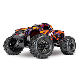 Traxxas Hoss 1/10 Scale 4WD Brushless Electric Monster Truck, VXL-3S, TQi - Orange