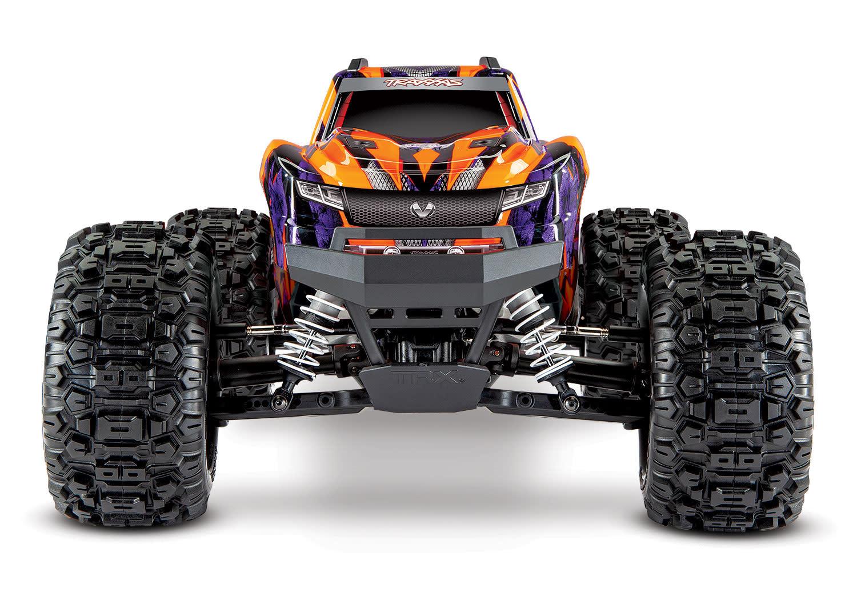 Traxxas Hoss 1/10 Scale 4WD Brushless Electric Monster Truck, VXL-3S, TQi - Orange TRX90076-4O-9