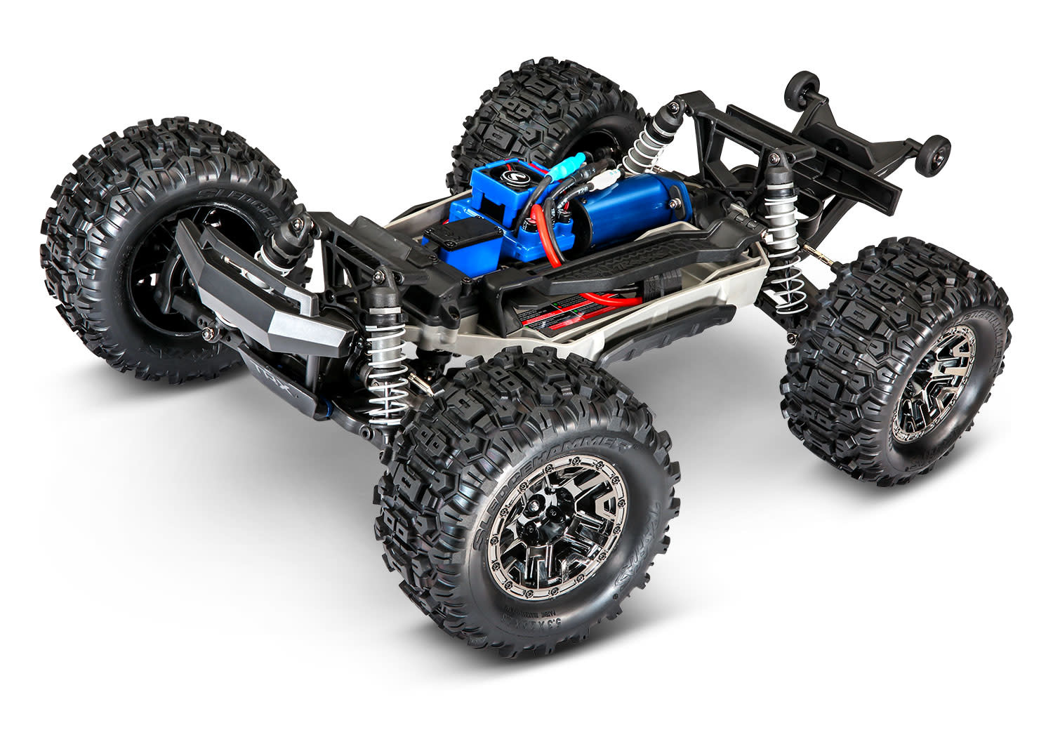 Traxxas Hoss 1/10 Scale 4WD Brushless Electric Monster Truck, VXL-3S, TQi - Green TRX90076-4G-5