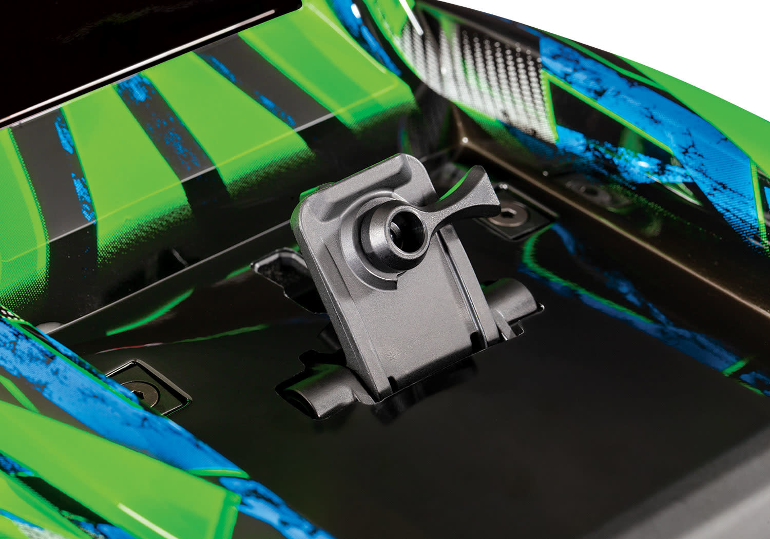 Traxxas Hoss 1/10 Scale 4WD Brushless Electric Monster Truck, VXL-3S, TQi - Green TRX90076-4G-10